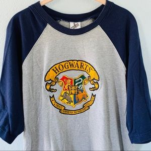 Hogwarts Harry Potter Short Sleeve T Shirt XXL